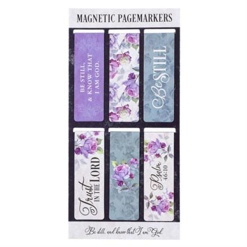 Picture of Bookmark - Magnetic - Be still