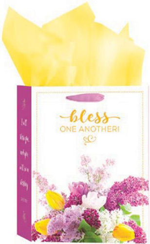 Picture of Gift bag - Bless/Bouquet - medium